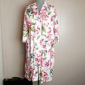 Show me your mumu floral kimono robe